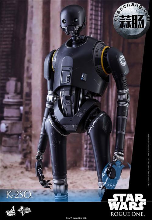 HotToys 《侠盗一号:星球大战外传》独创机械人K-2SO 1:6比例珍藏人偶 模玩 第3张