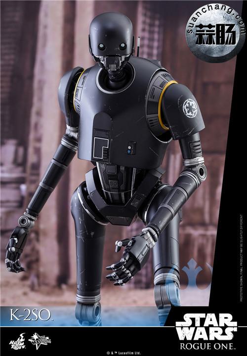 HotToys 《侠盗一号:星球大战外传》独创机械人K-2SO 1:6比例珍藏人偶 模玩 第4张