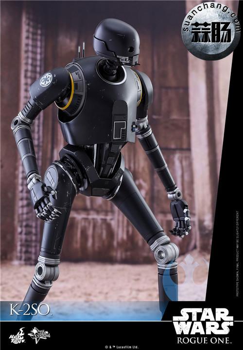 HotToys 《侠盗一号:星球大战外传》独创机械人K-2SO 1:6比例珍藏人偶 模玩 第5张