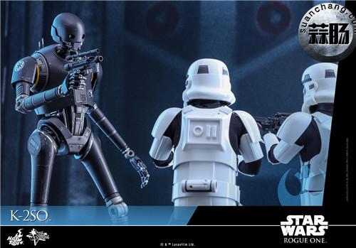 HotToys 《侠盗一号:星球大战外传》独创机械人K-2SO 1:6比例珍藏人偶 模玩 第8张
