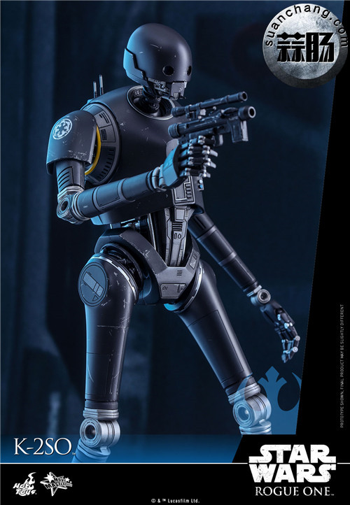 HotToys 《侠盗一号:星球大战外传》独创机械人K-2SO 1:6比例珍藏人偶 模玩 第9张