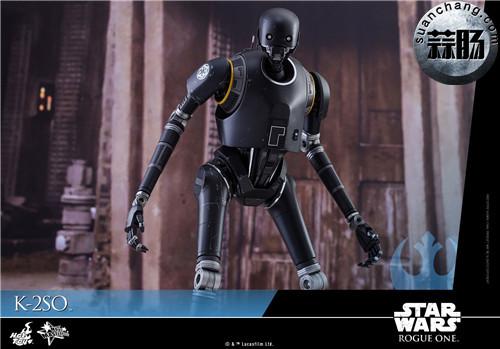 HotToys 《侠盗一号:星球大战外传》独创机械人K-2SO 1:6比例珍藏人偶 模玩 第11张