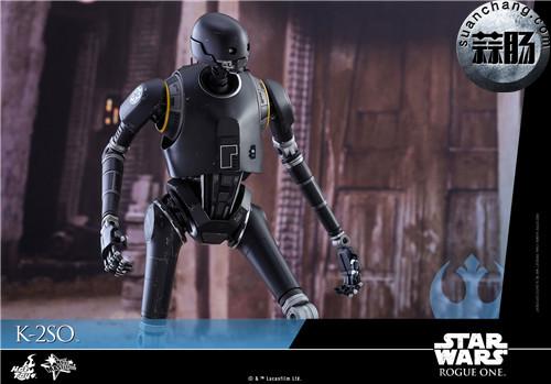 HotToys 《侠盗一号:星球大战外传》独创机械人K-2SO 1:6比例珍藏人偶 模玩 第12张