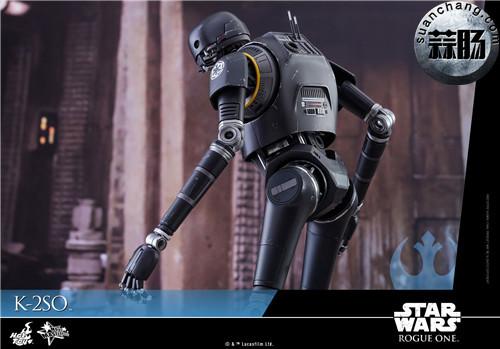 HotToys 《侠盗一号:星球大战外传》独创机械人K-2SO 1:6比例珍藏人偶 模玩 第13张