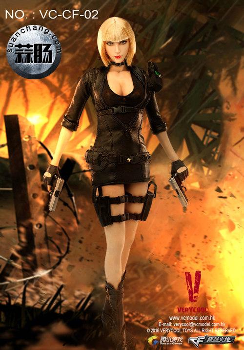 VERYCOOL新品——《穿越火线》系列第二弹 - Mandala曼陀罗之保卫者 模玩 第10张