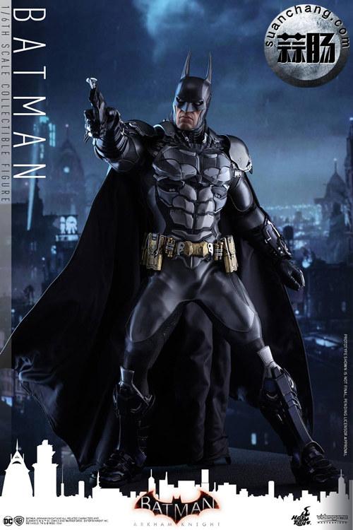 重磅消息——蝙蝠侠游戏版本出人偶了???Hottoys 新品《蝙蝠侠:阿甘骑士》来袭 模玩 第3张