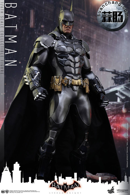 重磅消息——蝙蝠侠游戏版本出人偶了???Hottoys 新品《蝙蝠侠:阿甘骑士》来袭 模玩 第2张