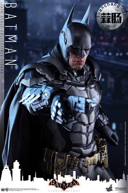 重磅消息——蝙蝠侠游戏版本出人偶了???Hottoys 新品《蝙蝠侠:阿甘骑士》来袭 模玩 第4张