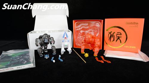 【第三方新品牌TransArt Toys】 CC-01 黑猩猩 赏析 第5张