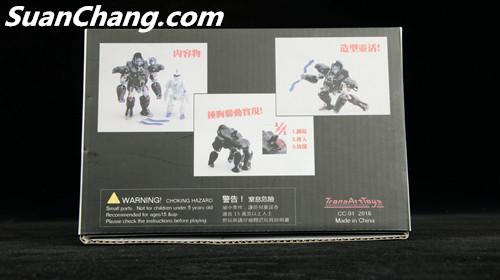 【第三方新品牌TransArt Toys】 CC-01 黑猩猩 赏析 第7张