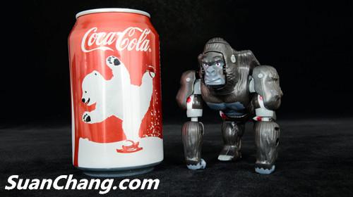 【第三方新品牌TransArt Toys】 CC-01 黑猩猩 赏析 第11张