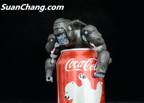 【第三方新品牌TransArt Toys】 CC-01 黑猩猩 赏析 第12张