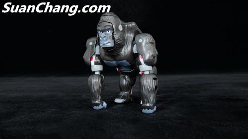 【第三方新品牌TransArt Toys】 CC-01 黑猩猩 赏析 第13张