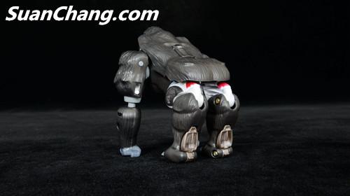 【第三方新品牌TransArt Toys】 CC-01 黑猩猩 赏析 第15张