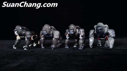 【第三方新品牌TransArt Toys】 CC-01 黑猩猩 赏析 第17张
