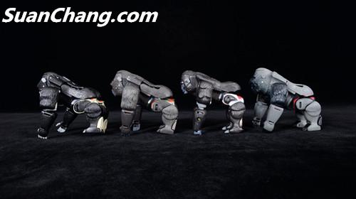 【第三方新品牌TransArt Toys】 CC-01 黑猩猩 赏析 第18张