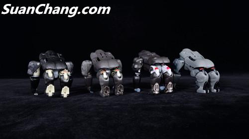 【第三方新品牌TransArt Toys】 CC-01 黑猩猩 赏析 第19张