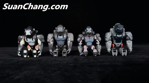【第三方新品牌TransArt Toys】 CC-01 黑猩猩 赏析 第20张
