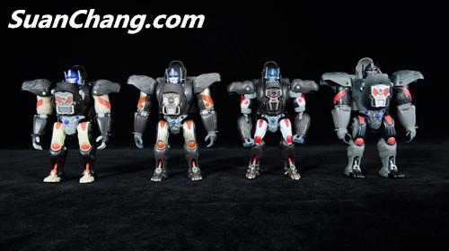 【第三方新品牌TransArt Toys】 CC-01 黑猩猩 赏析 第21张