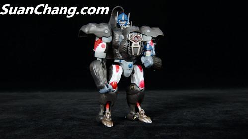 【第三方新品牌TransArt Toys】 CC-01 黑猩猩 赏析 第22张