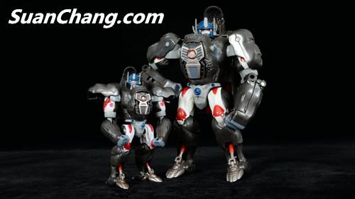 【第三方新品牌TransArt Toys】 CC-01 黑猩猩 赏析 第23张