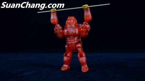 【第三方新品牌TransArt Toys】 CC-01 黑猩猩 赏析 第25张