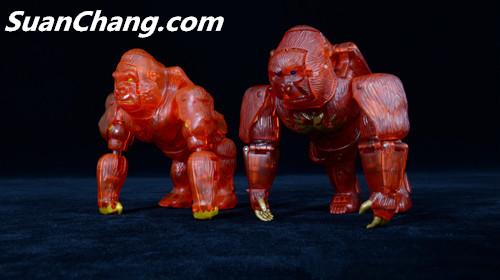 【第三方新品牌TransArt Toys】 CC-01 黑猩猩 赏析 第26张