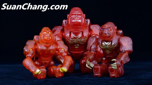 【第三方新品牌TransArt Toys】 CC-01 黑猩猩 赏析 第27张