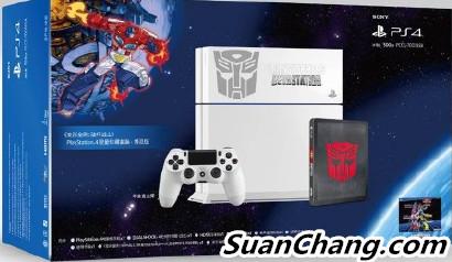 索尼三月将在中国发售变形金刚主题的PS4限定主机 变形金刚 第1张