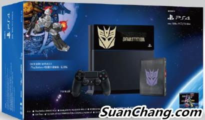 索尼三月将在中国发售变形金刚主题的PS4限定主机 变形金刚 第2张