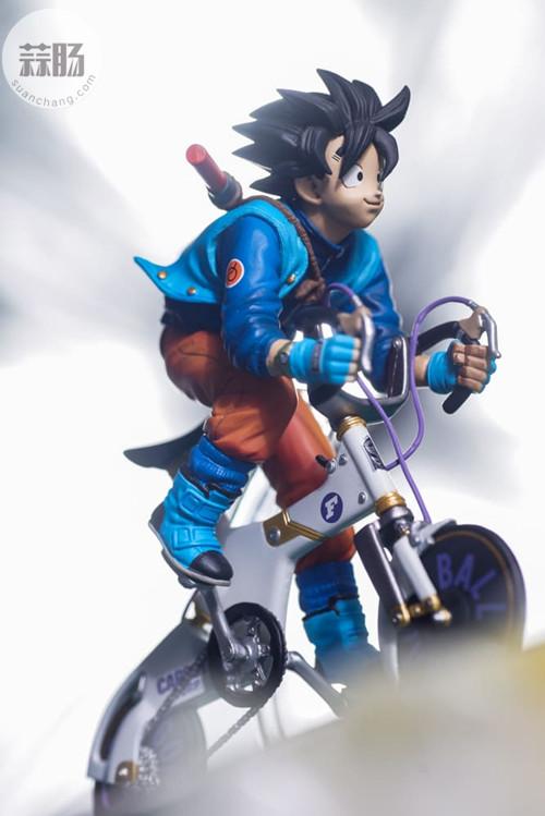 MegaHouse龙珠 自行车悟空 模玩 第1张