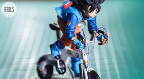 MegaHouse龙珠 自行车悟空 模玩 第24张