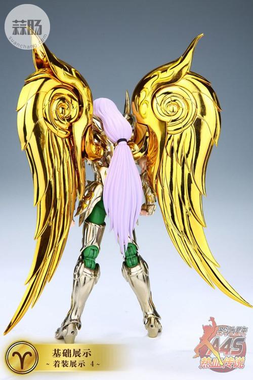 圣衣神话EX黄金魂之2——白羊座穆 模玩 第20张