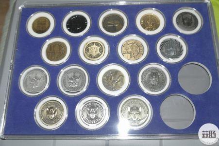 各种纪念币收藏 令人大饱眼福