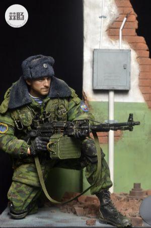 DAM 俄罗斯VDV空降部队 PKP佩切涅格机枪手