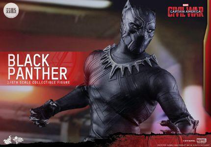 HotToys新品  MMS363《美国队长3 内战》黑豹 Black Panther