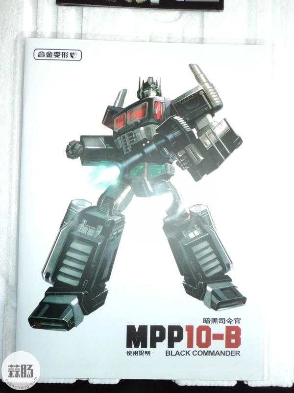 迷友入手晒影——MPP10-B暗黑擎天柱 变形金刚 第18张