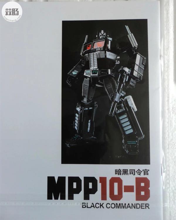 迷友入手晒影——MPP10-B暗黑擎天柱 变形金刚 第21张