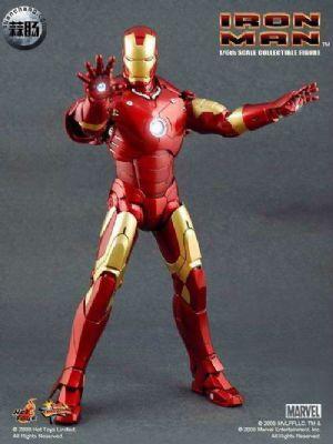 Hottoys钢铁侠Iron Man(仅托尼)系列部分玩具简评