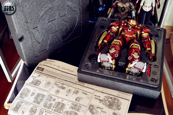 魂限定 超合金×S.H.Figuarts MK44 反浩克装甲 模玩 第2张