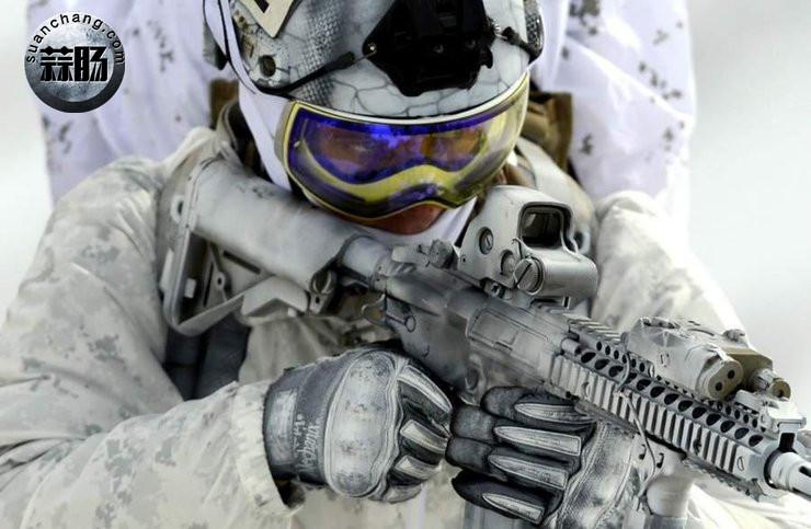 2016会场版雪地海豹NSW机枪手素组分享 模玩 第3张