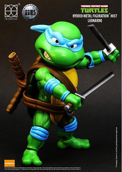 HEROCROSS Hybrid Metal 忍者神龟 发售信息 模玩 第7张