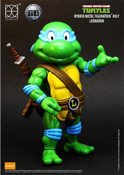HEROCROSS Hybrid Metal 忍者神龟 发售信息 模玩 第5张