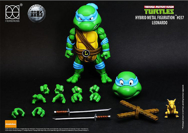 HEROCROSS Hybrid Metal 忍者神龟 发售信息 模玩 第4张