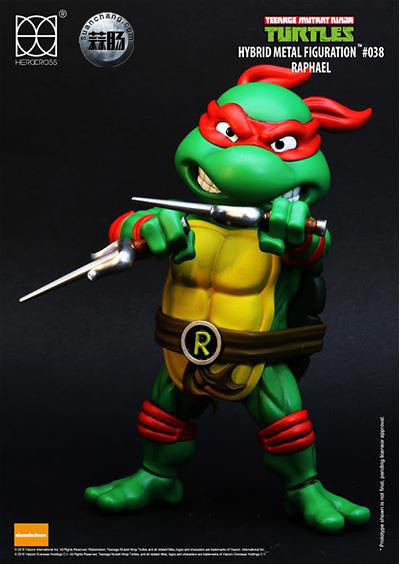 HEROCROSS Hybrid Metal 忍者神龟 发售信息 模玩 第11张