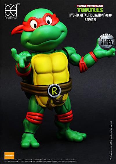 HEROCROSS Hybrid Metal 忍者神龟 发售信息 模玩 第9张