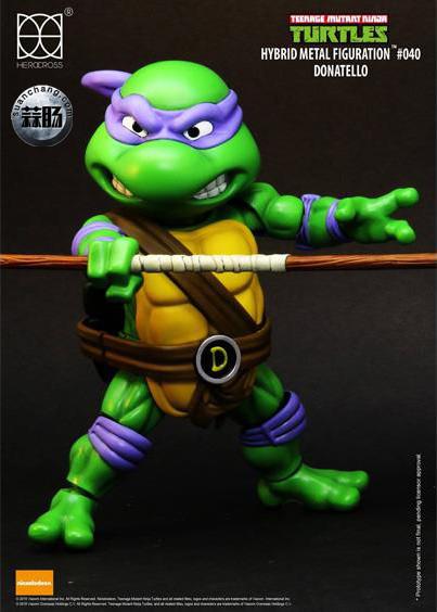 HEROCROSS Hybrid Metal 忍者神龟 发售信息 模玩 第19张