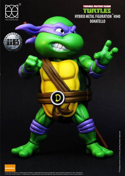HEROCROSS Hybrid Metal 忍者神龟 发售信息 模玩 第17张
