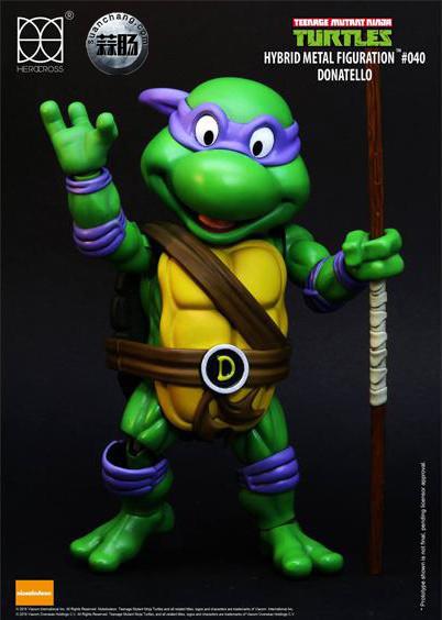 HEROCROSS Hybrid Metal 忍者神龟 发售信息 模玩 第18张