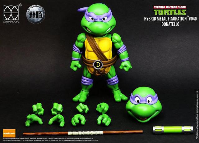 HEROCROSS Hybrid Metal 忍者神龟 发售信息 模玩 第16张